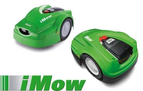 Der neue Mähroboter iMow